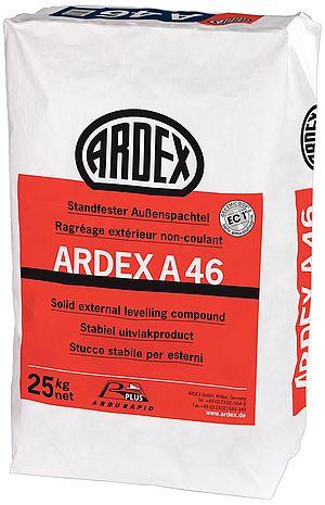 Ātri žūstoša špaktele āra darbiem ARDEX A46