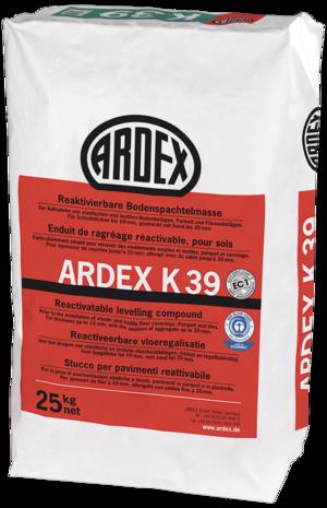 Microtec pašnivelējošā java grīdām ARDEX K39