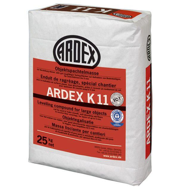 Plūstoša špaktele grīdām ARDEX K 11