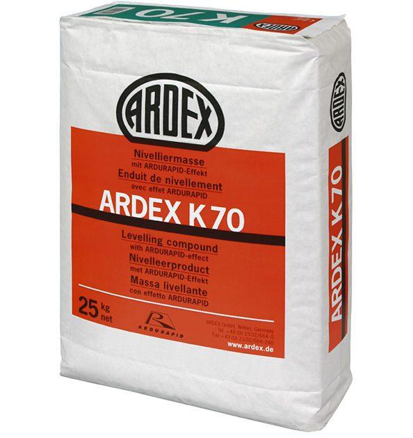 Līdzinātājs grīdām biezām kārtām ARDEX K70