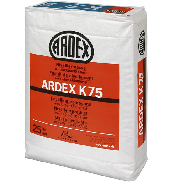 Līdzinātājs grīdām biezām kārtām ARDEX K 75