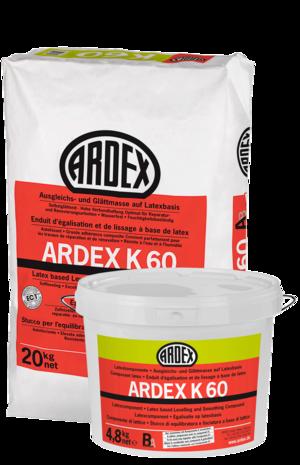 Lateksa bāzes pašnivelējošais grīdām ARDEX K60