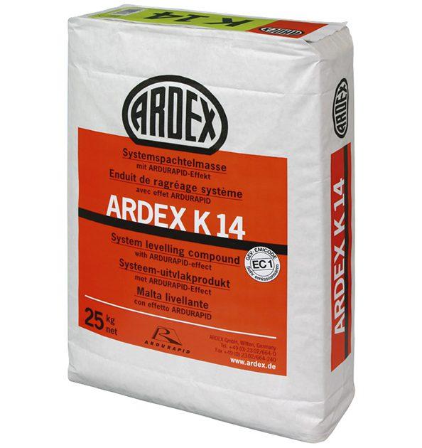 Pašizlīdzinošā java grīdām ARDEX K 14