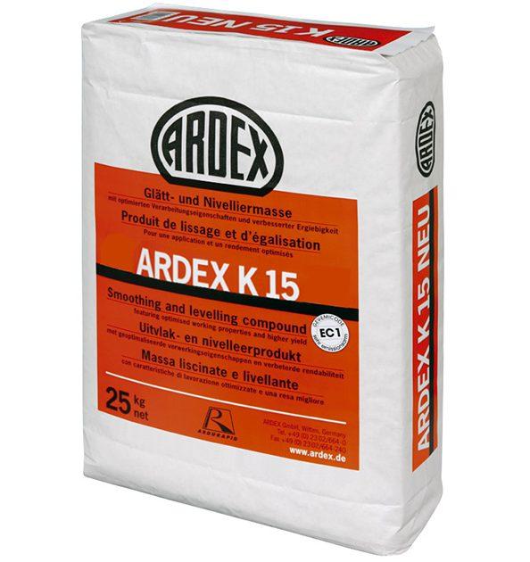 Pašizlīdzinošā java grīdām ARDEX K 15