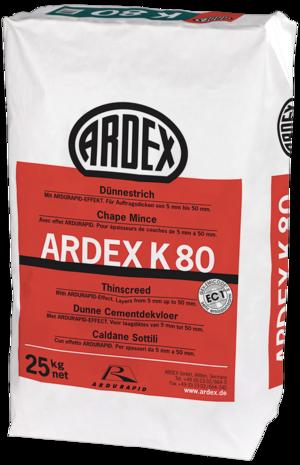 Pašizlīdzinošs maisījums industriālām grīdām ARDEX K80
