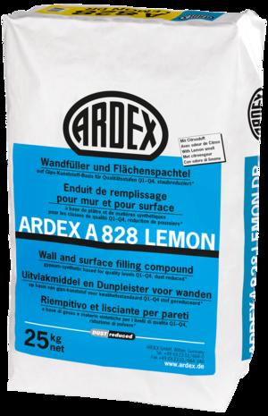 Špaktele ģipškartona plākšņu šuvēm ARDEX A828 Lemon