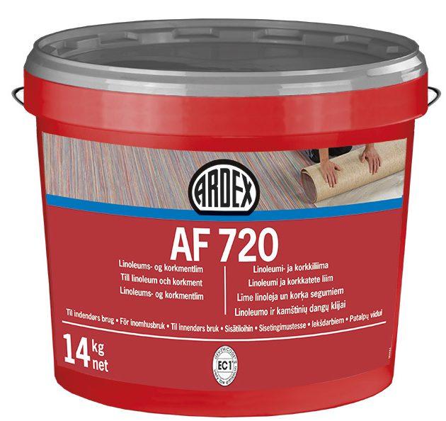 Linoleja un korķa segumu līme ARDEX AF 720