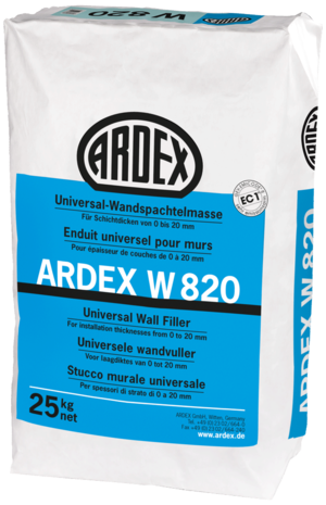 Universāla ģipša špaktele ARDEX W820