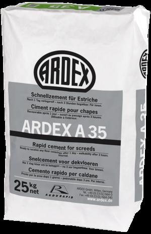 Ātrais cements grīdām ARDEX A 35