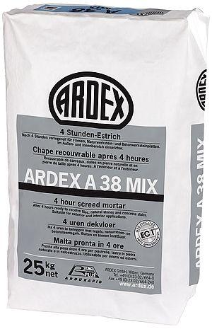 4 stundu betons ARDEX A 38 MIX