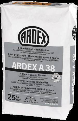4 stundu cements ARDEX A 38
