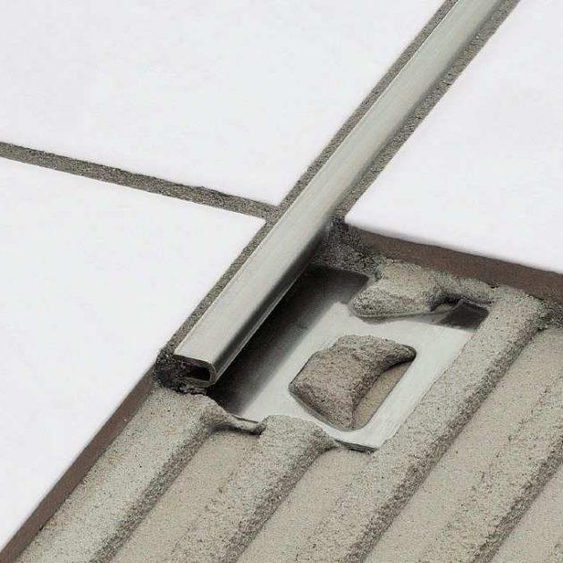 Dekoratīvs flīžu profils grīdām DECO