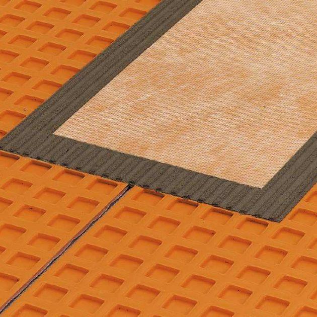 Hidroizolācijas elementi Schluter KERDI drošai un ETA standarta prasībām atbilstošu mitro telpu hidroizolācijas ierīkošanai
