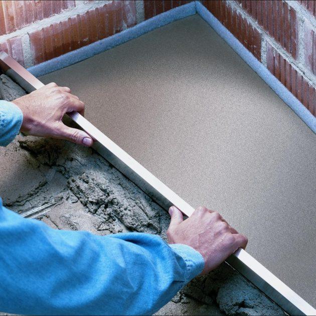 Cementi un betona špakteles