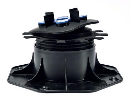 Regulējami plākšņu balsti TerraMaxx TSL augstumā vienkārši regulējamu terašu balstu sistēma plākšņu bez javas montāžai