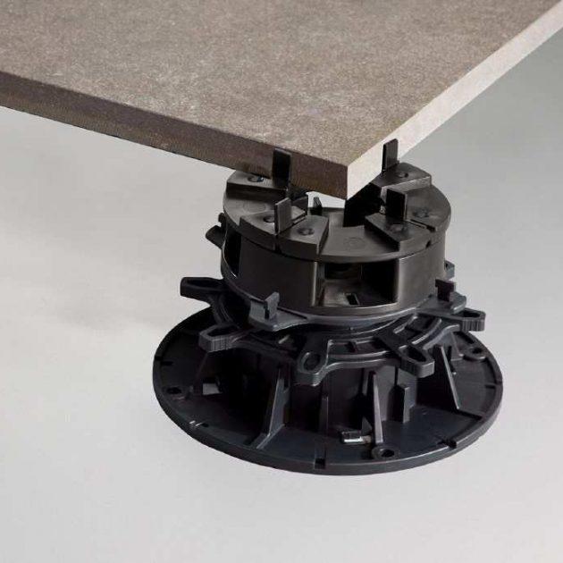 Plākšņu balstu sistēma TROBA-LEVEL ir iepriekš samontēta, kombinējama plākšņu montāžas sistēma, ar augstuma regulācijas iespējām