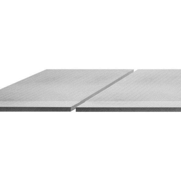 Slīpuma plāksne KERDI-SHOWER-BSLS zem BEKOTEC klona slīpuma plāksnes ar 2% kritumu uz vienu malu un piemērots uzstādīšanai zem BEKOTEC klona.