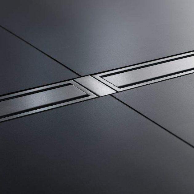 KERDI-LINE-FC dekoratīvo restu savienošanas elements ir nerūsējošā tērauda elements režģa/rāmja bloku optiskai savienošanai.